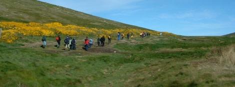 Hike on Westpoint (Falklands)