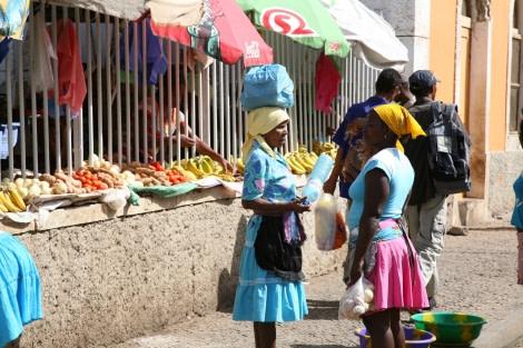 Local people of Cape Verdes