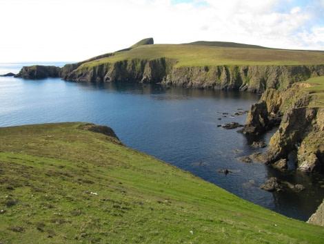 Fair Isle landscape