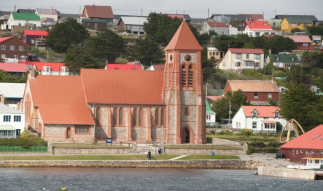 The church of Port Stanley