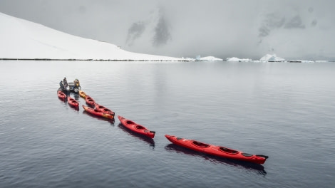 Antarctica, Kayaks © Dietmar Denger-Oceanwide Expeditions