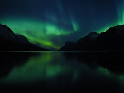 Aurora borealis, Northern lights, North Norway