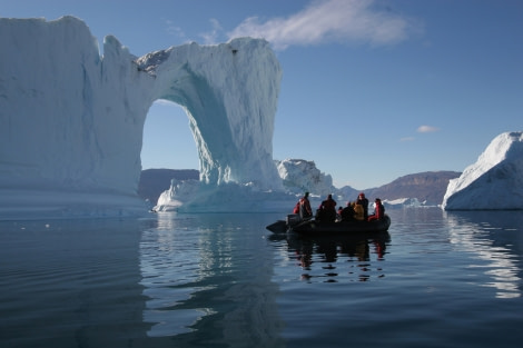 Zodiac cruising, Scoresby Sund, Greenland © Oceanwide Expeditions.jpg