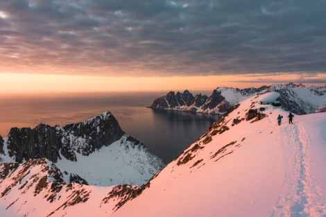 North Norway sunset hike