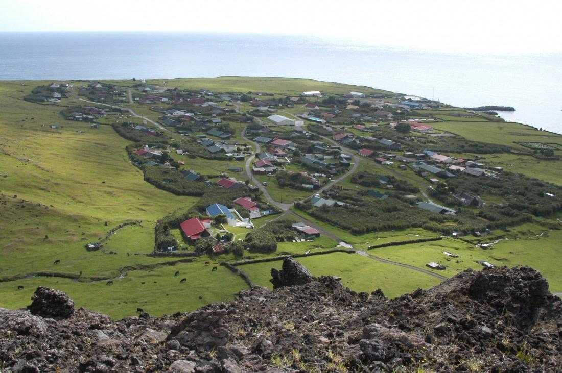 Settlement at Tristan da Cunha