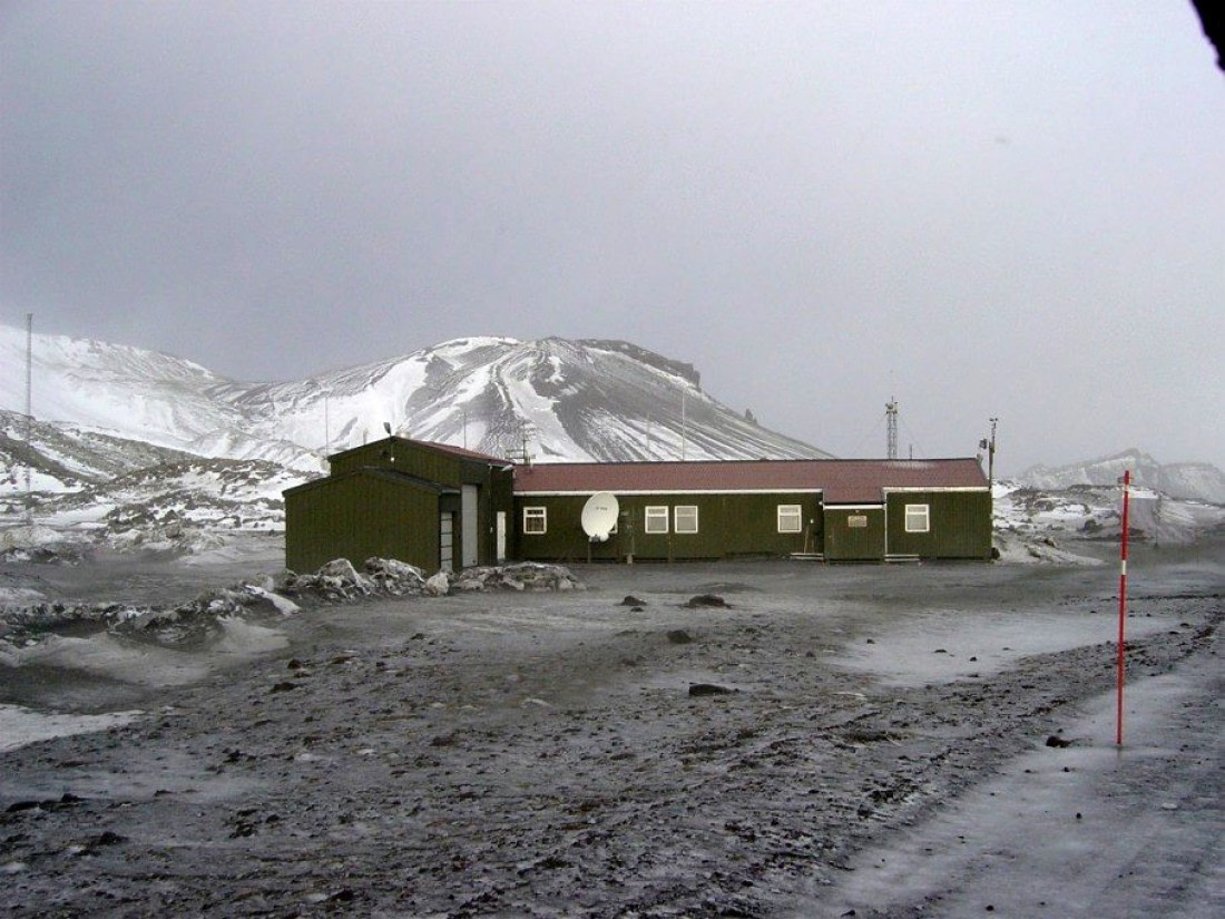 The weather station on Jan Mayen
