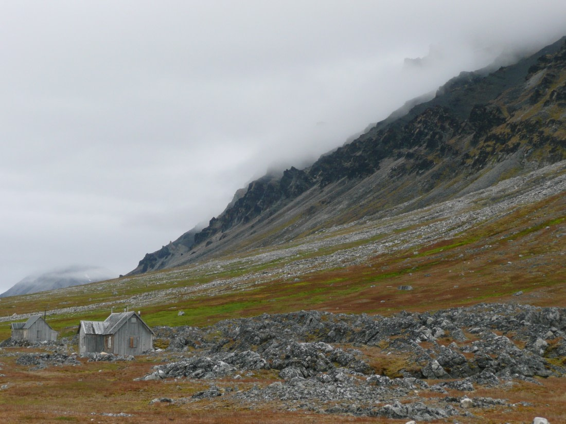 Trappers hut located at Bellsund, Svalbard