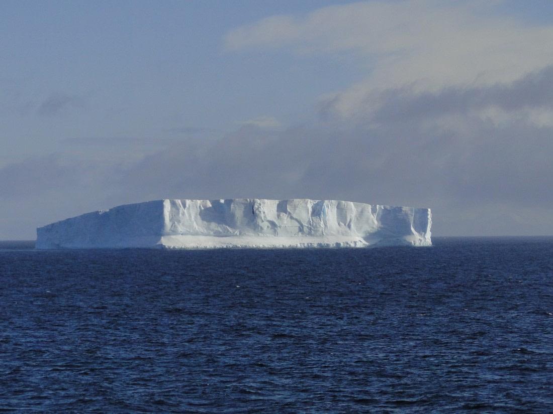 A tabular iceberg in the Weddell Sea
