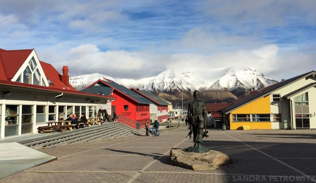 The city-center of Longyearbyen
