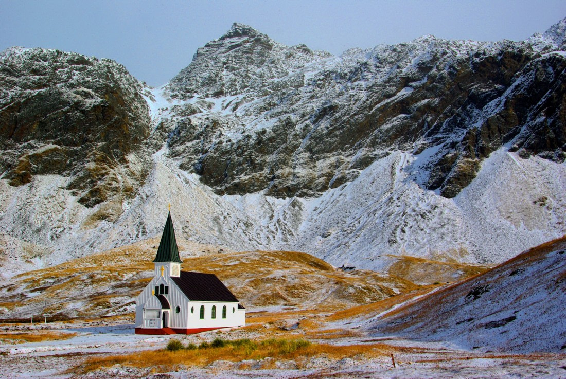 The church at Grytviken in South Georgia