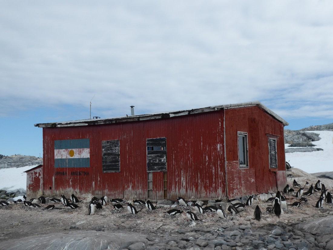 Hut on Petermann Island