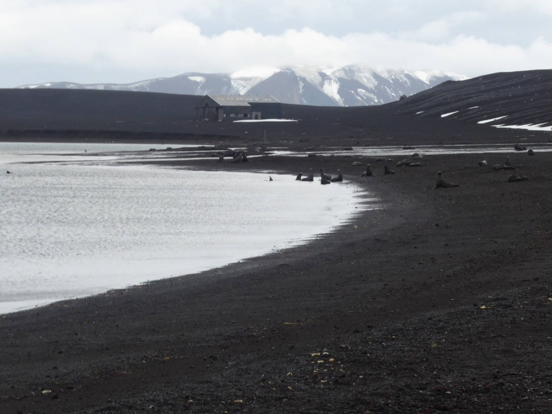 General view of Deception Island