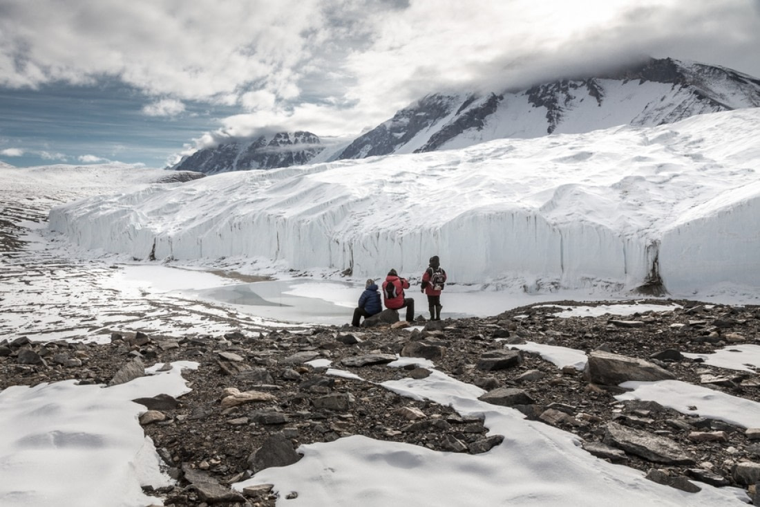 Dry Valleys, Taylor Valley, Canada Glacier, Ross Sea