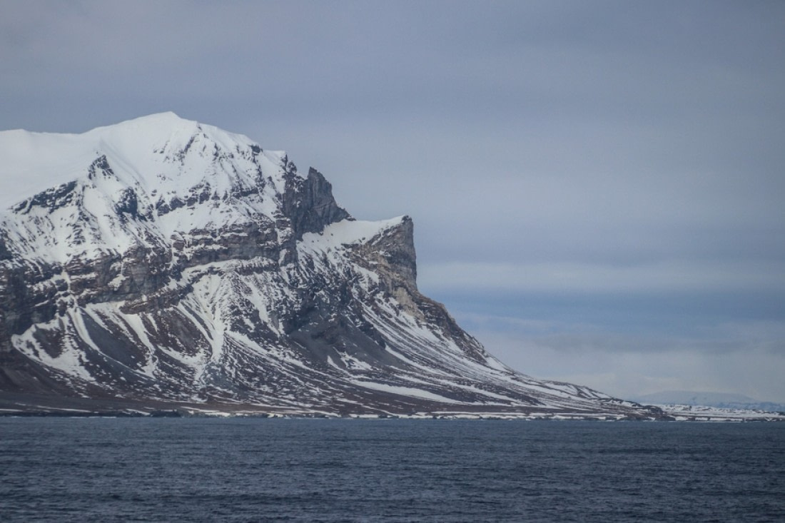 Entrance to Isfjorden in Svalbard