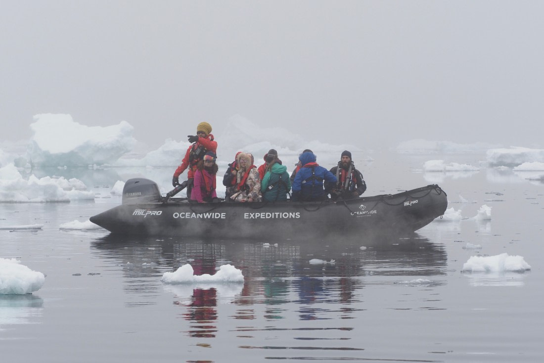 Zodac cruise in the Weddell Sea