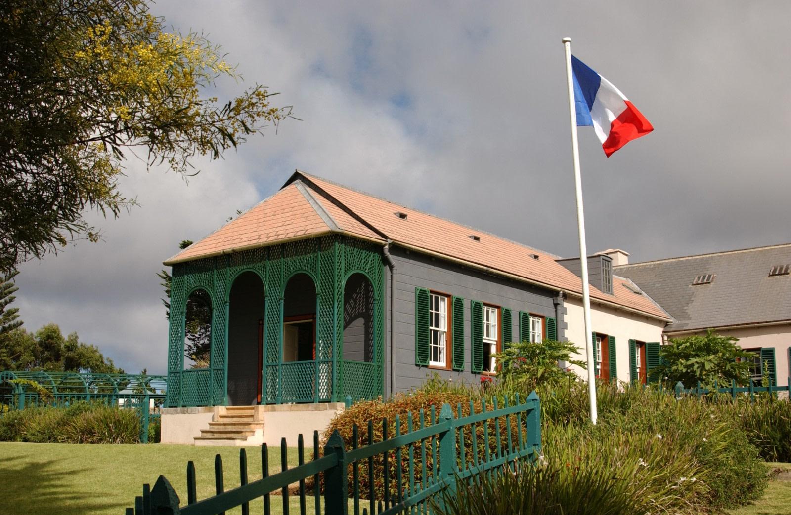 Napoleons Haus auf St. Helena