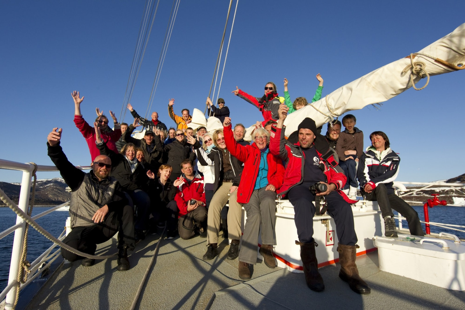 Sailing aboard s/v Rembrandt van Rijn