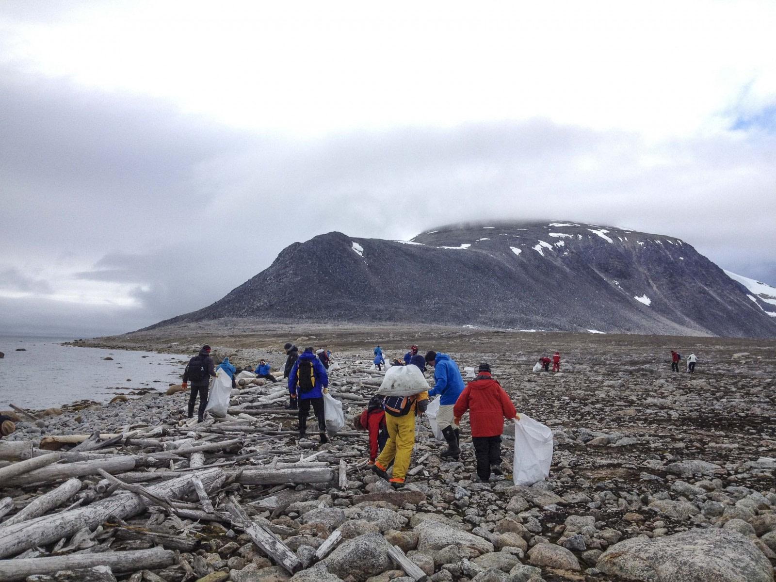 Svalbard aufräumen