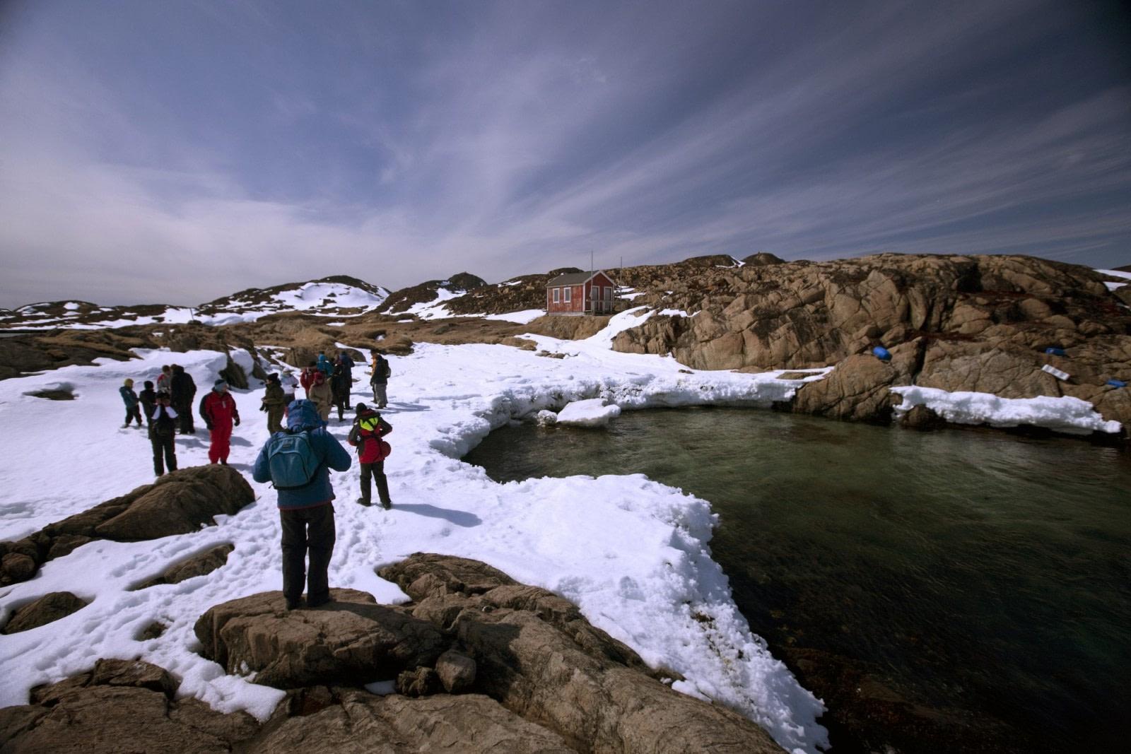 Hiking in Grönland