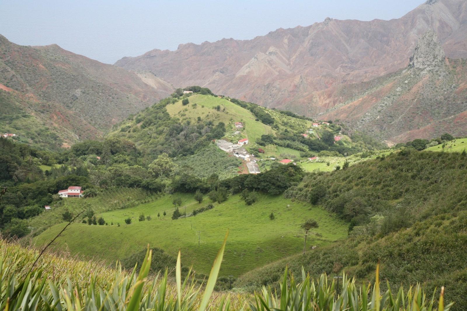 Hiking auf St. Helena