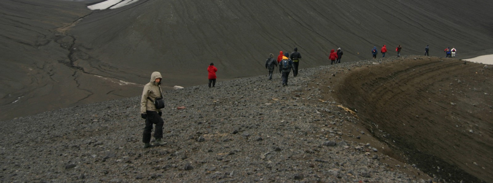Hiking Deception Island