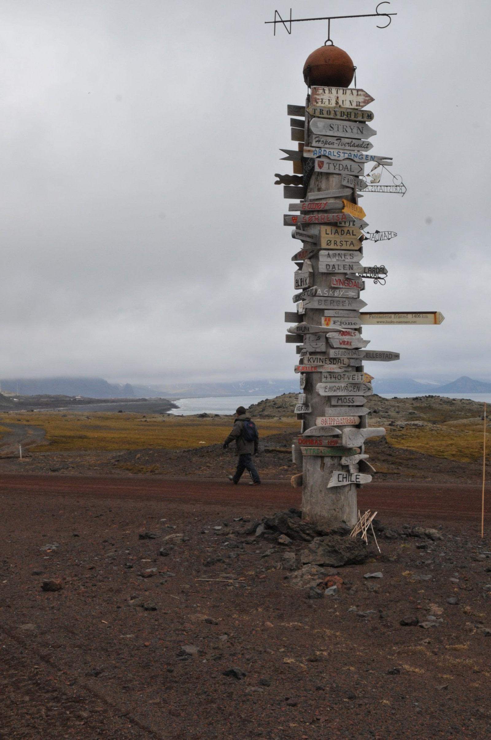 Weather station on Jan Mayen