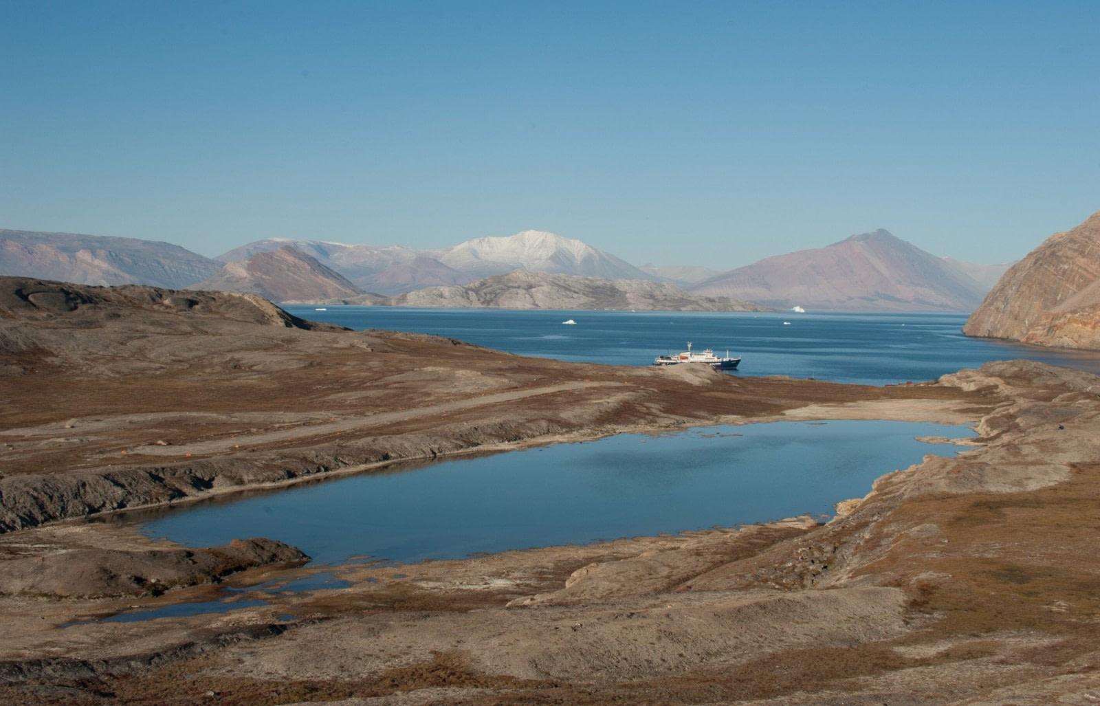 Küstenlinie Grönlands