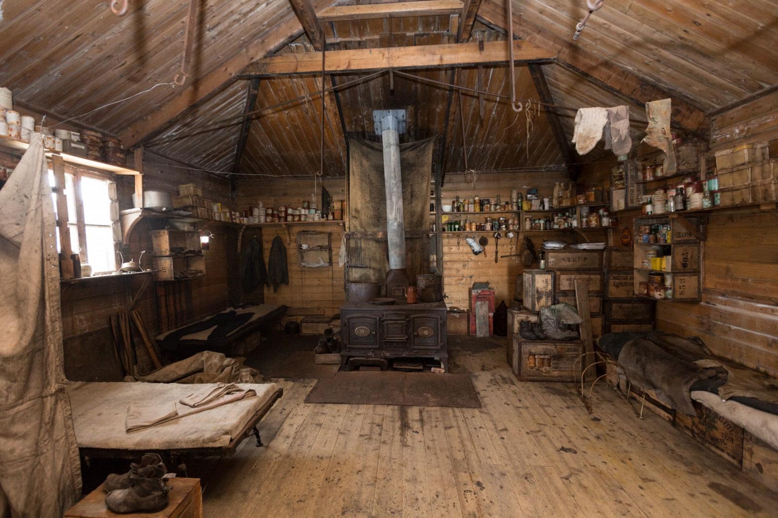 El refugio de Shackleton