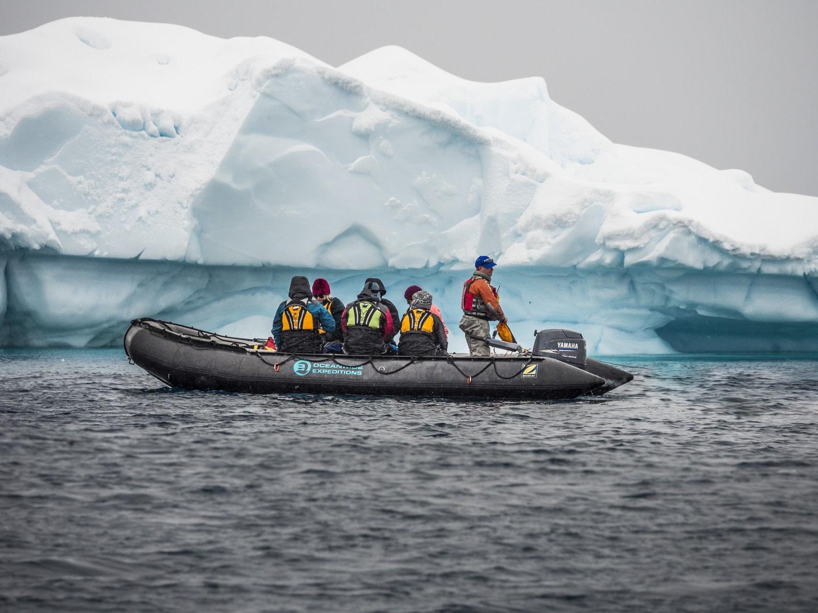 Antarctica, Zodiac cruising © Dietmar Denger-Oceanwide Expeditions.jpg
