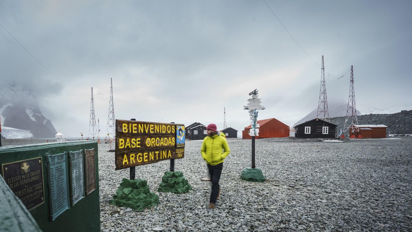 Orcadas Station auf den Süd-Orkneyinseln