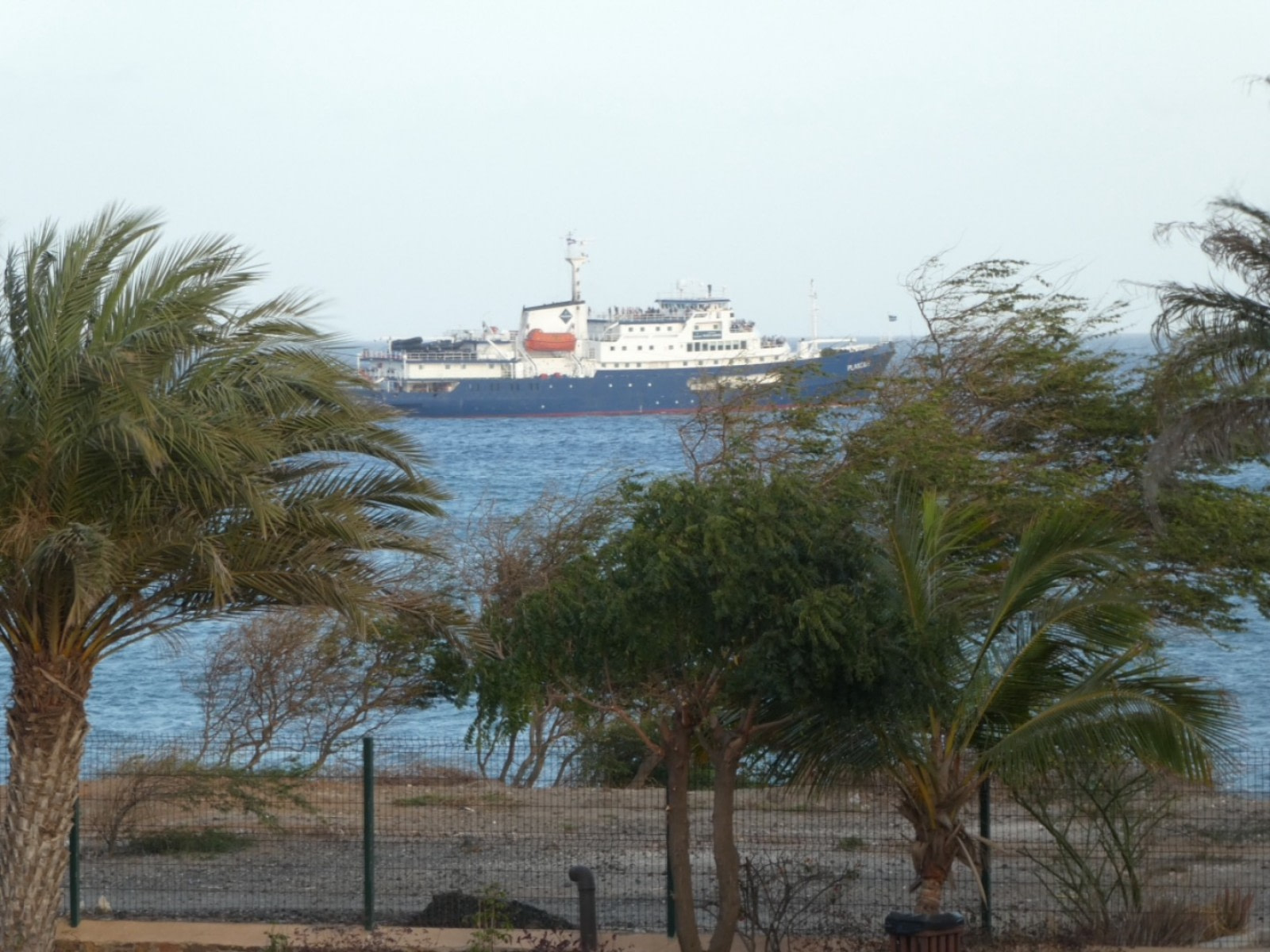 Leaving Cape Verde