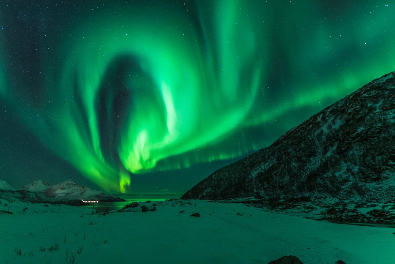 North Norway, Aurora Borealis