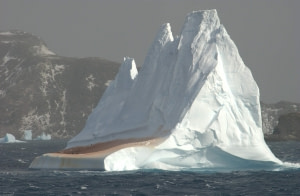 Zodiac Cruising around the South Orkney Islands