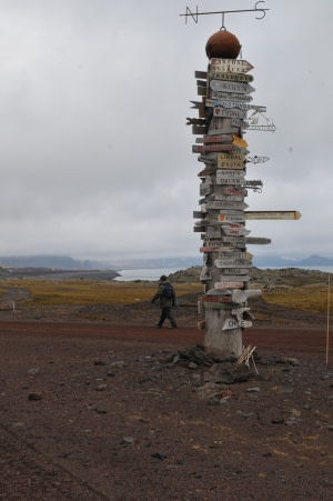 Weather station on Jan Mayen