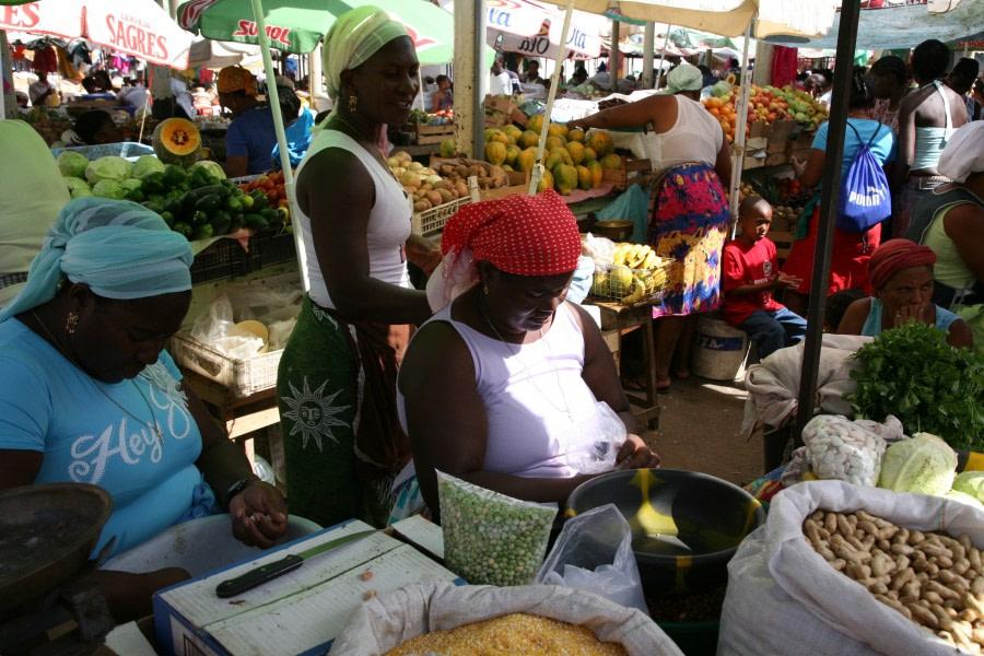 Local Market on Cape Verde