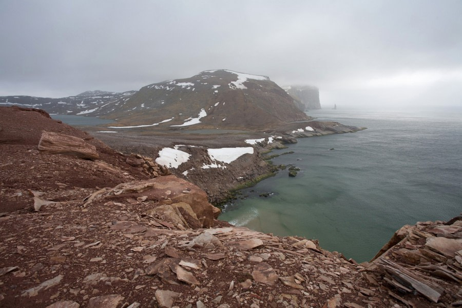 View to Stappen, Southwest of Bear Island