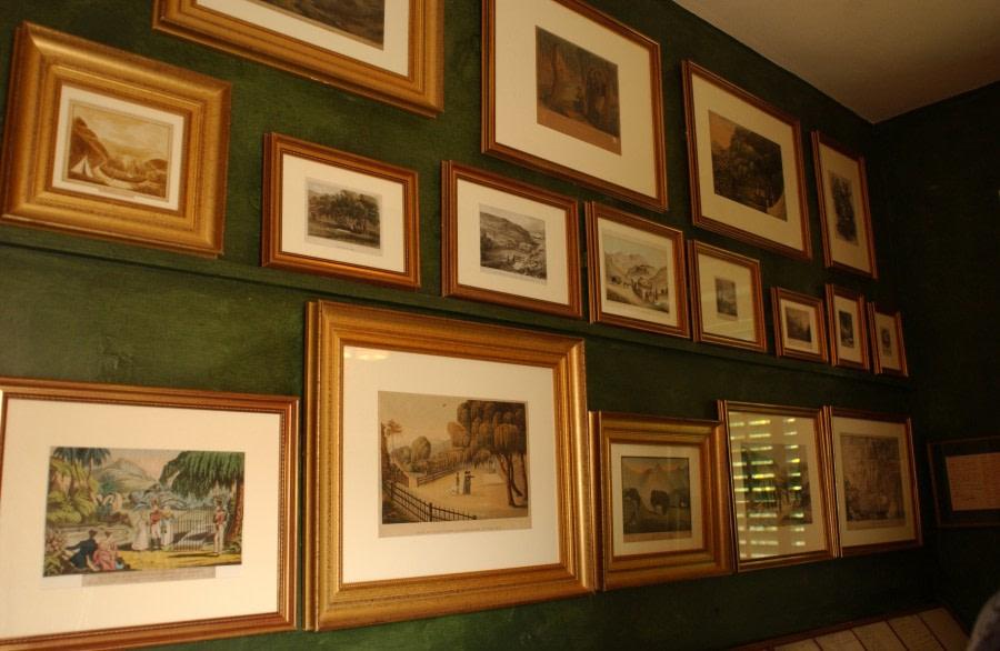 Inside Napoleon's house