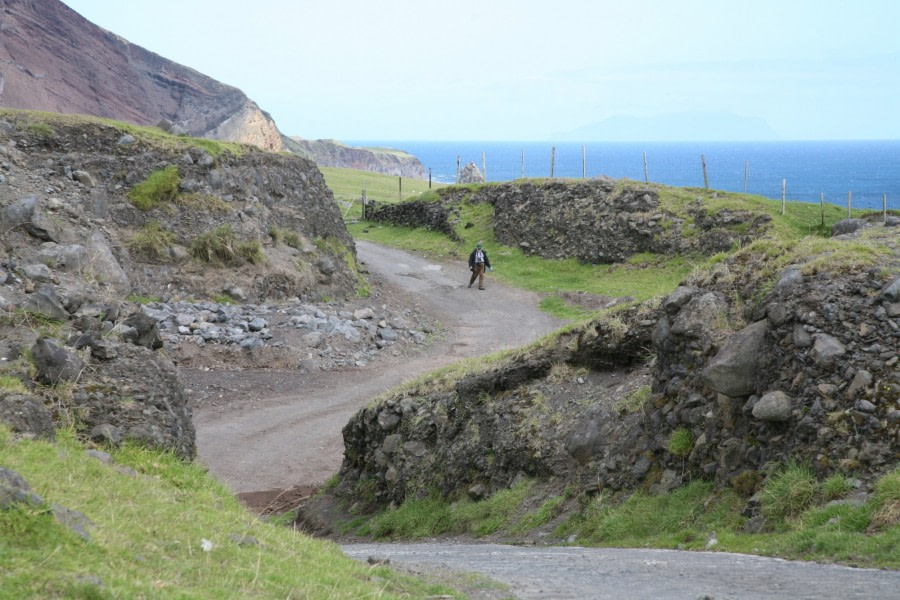 Hiking paths of Tristan