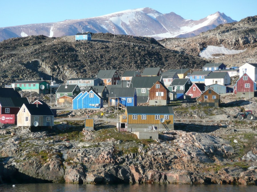 Ittoqqortoormiit and its colourful houses
