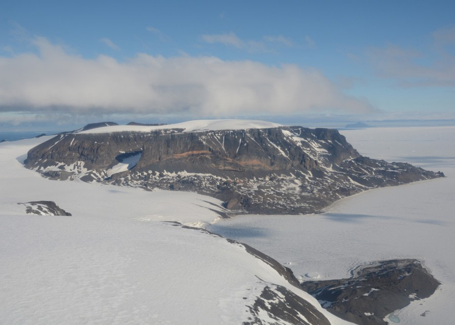 Aerial of Snow Hill Island