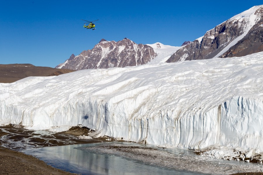 Canada Glacier in the Dry Valleys, Ross Sea