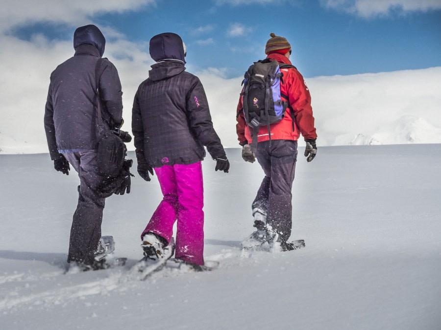 Antarctica, Snowshoeing © Dietmar Denger-Oceanwide Expeditions