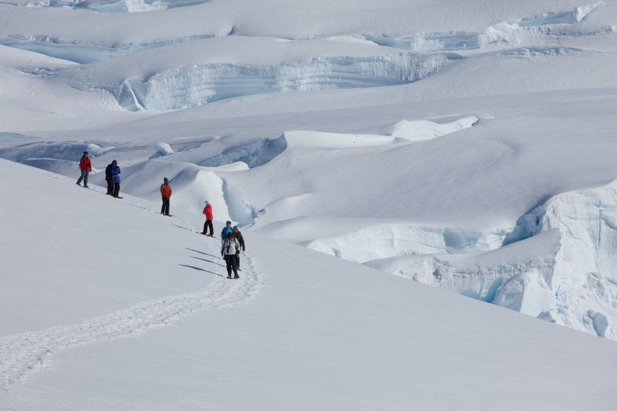 Snowshoeing at Stoney Point, Antarctica © Troels jacobsen-Oceanwide Expeditions.JPG