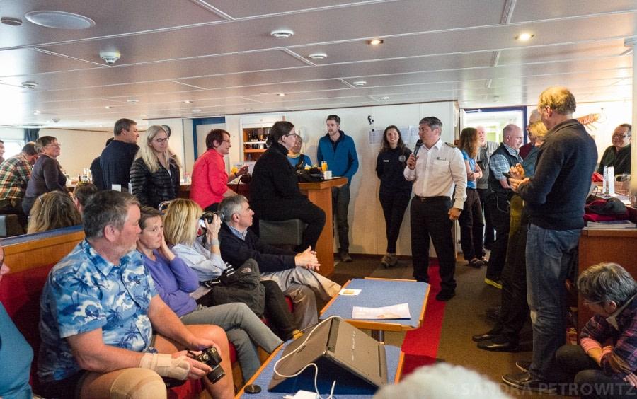 At sea towards Ushuaia: The Drake Passage