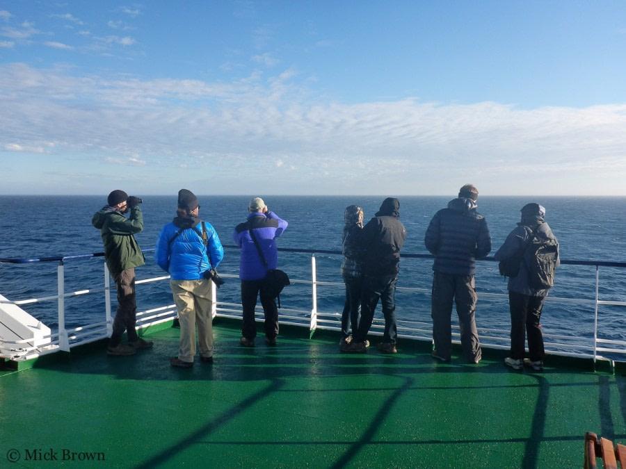 At sea towards South Georgia