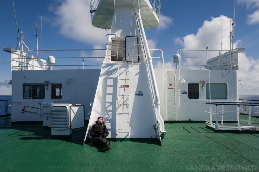 At sea towards Antarctica