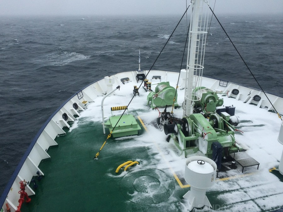 At sea towards the South Orkney Islands
