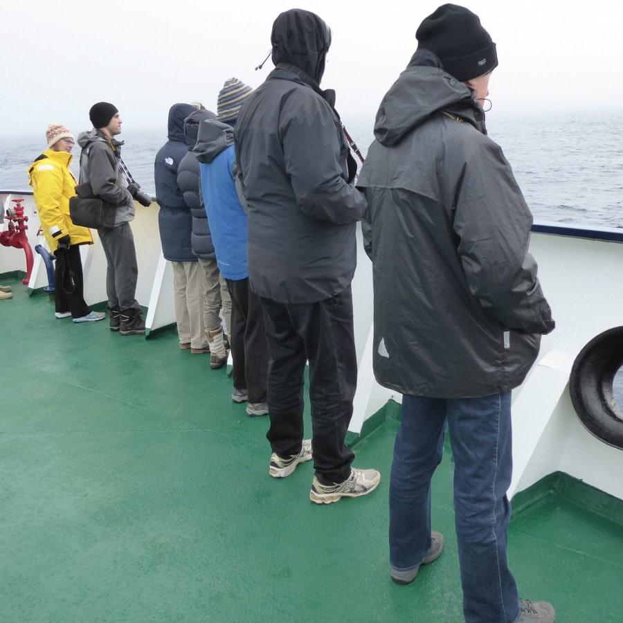 into the Amundsen Sea