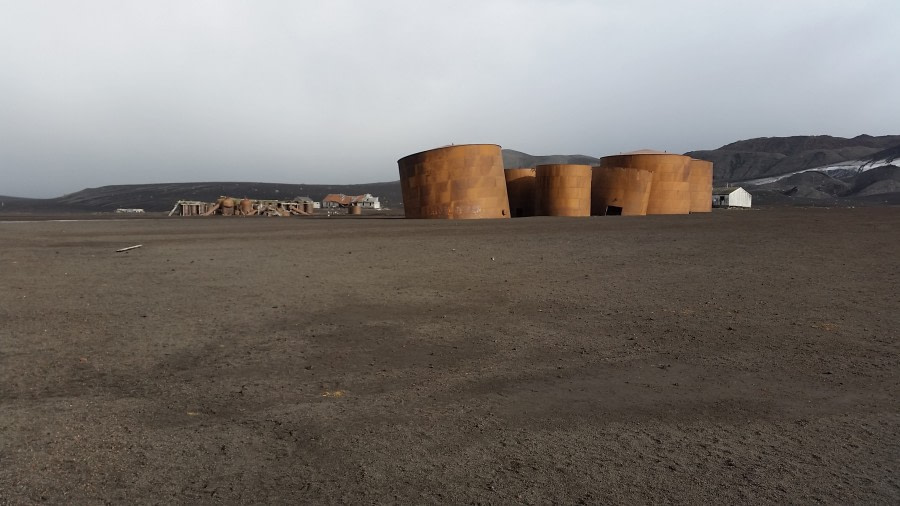 Deception Island – Whalers Bay