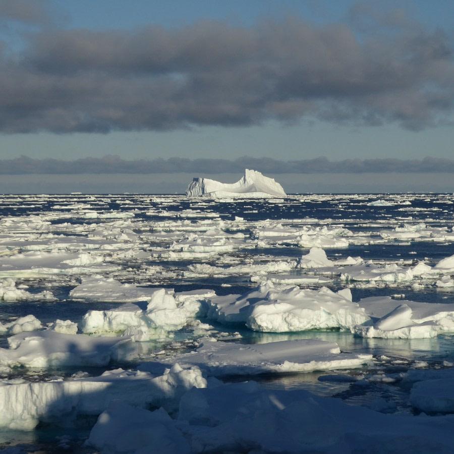 crossing the Amundsen Sea